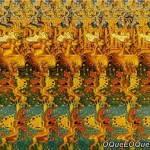 Imagem 3D de um Dragão de 3 cabeças