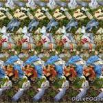 Imagem 3D de Setas