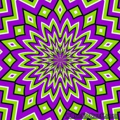 Imagem em Movimento - estrela colorida