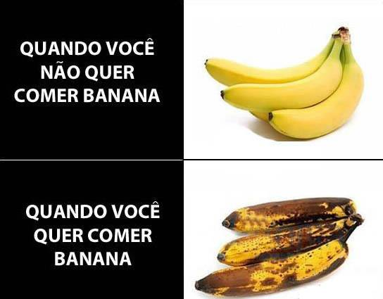É sempre assim com a banana