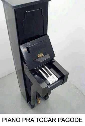Piano para tocar Pagode