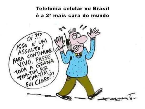 O Assalto das empresas de telefonia no Brasil